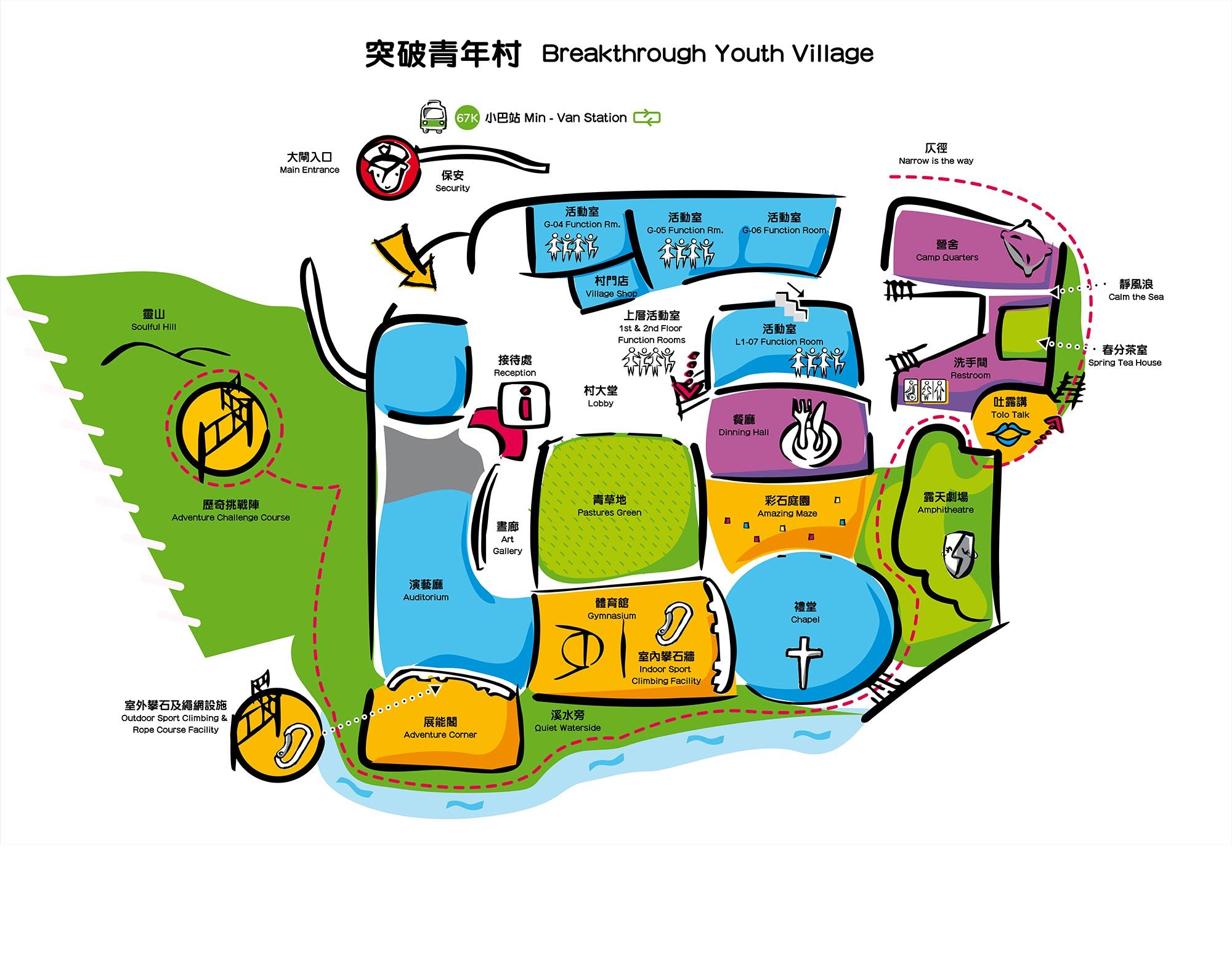 BTYV G/F map